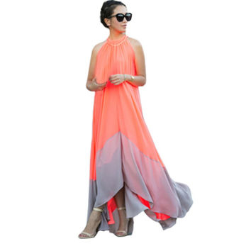 Summer Boho Long Maxi Dress