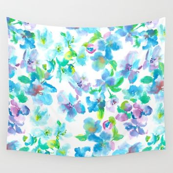 Appleflower Wall Tapestry by Susanna Nousiainen