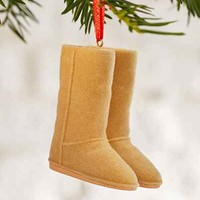 Suede Boots Ornament - Urban Outfitters