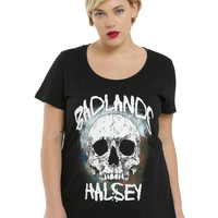 Halsey Badlands Skull Logo Girls T-Shirt Plus Size