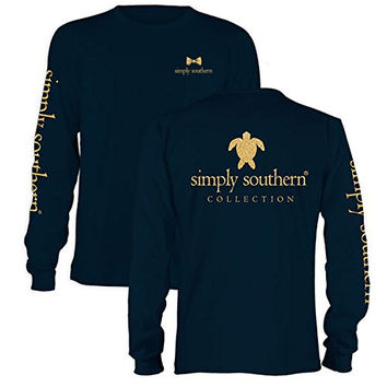85a43fcce Simply Southern Preppy Gold Turtle Long from Simply Cute Tees