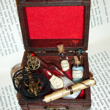 Supernatural Inspired 'Dean's Box of Tricks'