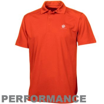 Cutter & Buck Clemson Tigers DryTec Genre Performance Polo - Orange