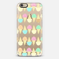 Little Scoops (transparent) iPhone 6 case by Lisa Argyropoulos   Casetify
