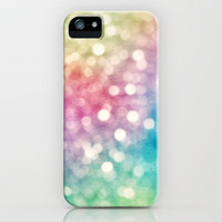 Rainbow Sparkles iPhone Case by Sharon Johnstone | Society6