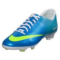 New Nike Mercurial Victory IV FG Blue Mens 7.5