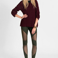 Through the Cut Jeggings in Olive - $39.00: ThreadSence, Women's Indie & Bohemian Clothing, Dresses, & Accessories