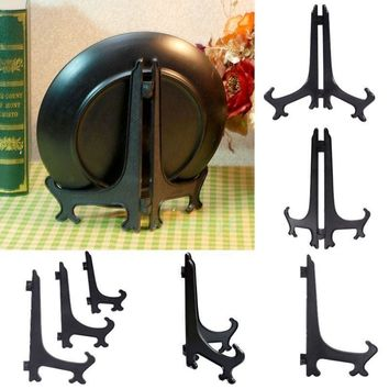 "3""5""7""9"" Display Easel Stand Plate Bowl Picture Frame Photo Pedestal Holder free shipping"