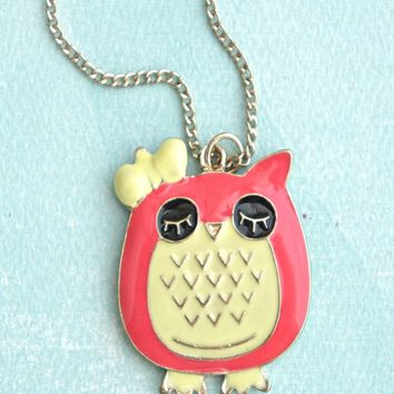 Kawaii Owl Necklace