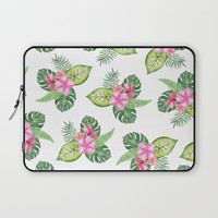 tropical Laptop Sleeve by Sylvia Cook Photography