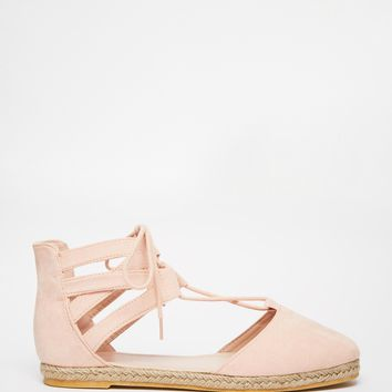 ASOS JESSICA Lace Up Espadrilles