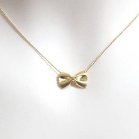 Modern, Dainty, Pasta, Gold, Silver, Necklace, Ribbon, Necklace, Lovers, Friends, Sister, Gift, Accessories, Jewelry