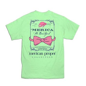Palmetto Moon | 'Merican Proper America the Beautiful T-shirt | Palmetto Moon