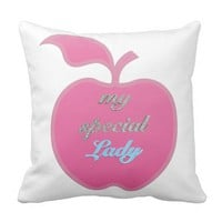 My Special Lady Throw Pillow