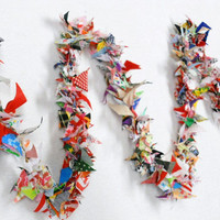 Scrappy Fabric Garland Circus Wedding Birthday Party 12'