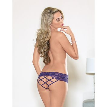 Lattice Back Panty