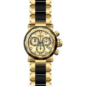 Invicta Men's 23978 Specialty Quartz Chronograph Gold Dial Watch