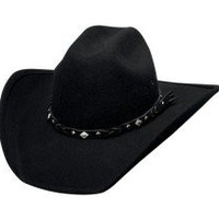 Montecarlo Bullhide Hats COUNTRY HERITAGE Wool Cowboy Western Hat (Small)
