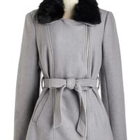 ModCloth 40s Mid-length Long Sleeve Tangibly Tasteful Coat