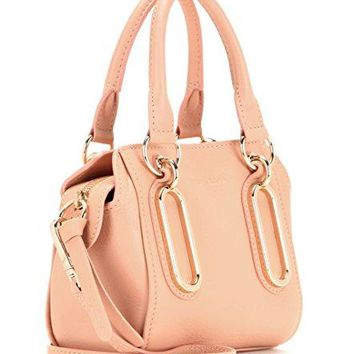 See by Chloe 9S7801-P260 BGN Paige Small Leather Cross Body Satchel Pastel Pink