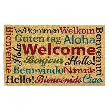 Multilingual Welcome Mat