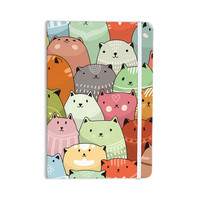 "Snap Studio ""Kitty Attack"" Cat Illustration Everything Notebook"