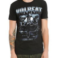 Volbeat Crow And Skeletons T-Shirt