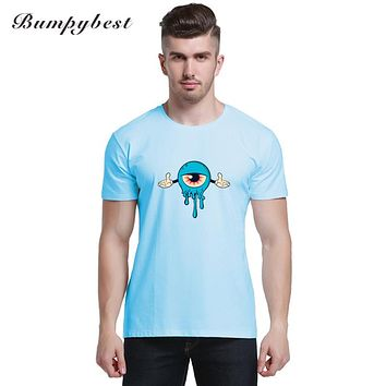 Arrival Men T shirts New Printed Eye Tee shirt men Funny Summer Casual Tops Tees