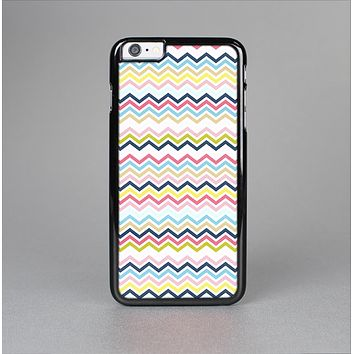 The Multi-Lined Chevron Color Pattern Skin-Sert Case for the Apple iPhone 6