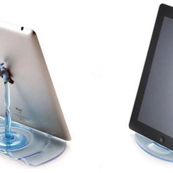 Water Tap Faucet Stand For Smartphone/Tablet PC