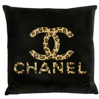 Chanel LOGO Pillow-Leopard