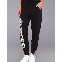 adidas Originals Originals Baggy Track Pant Black/White - Zappos.com Free Shipping BOTH Ways