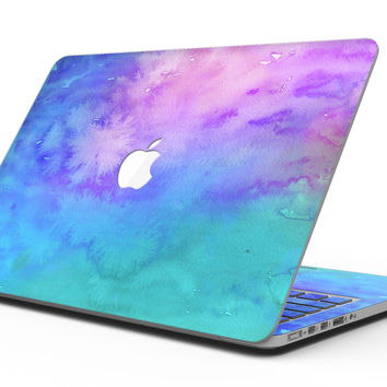 Washed Dyed Absorbed Watercolor Texture - MacBook Pro with Retina Display Full-Coverage Skin Kit