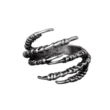 Fashion Men's Opening Talon Rings Mystery Jewelry Gothic Punk Antique Copper Eagle Claw Ring