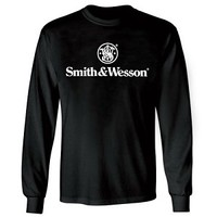Smith and Wesson Long Sleeved Black T-Shirt