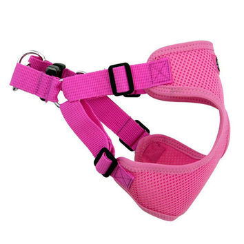 Wrap and Snap Choke Free Dog Harness — Candy Pink