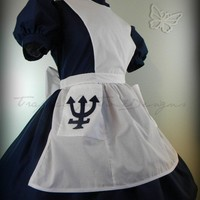 Gothic Lolita Dress American McGee Alice by TrappedInTimeDesigns