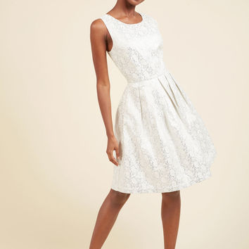 Thoughtful Nostalgia A-Line Dress | Mod Retro Vintage Dresses | ModCloth.com