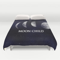 Moon Child Duvet Cover by DuckyB (Brandi)