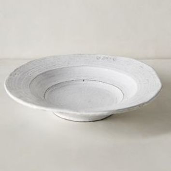 Glenna Soup Bowl by Anthropologie in White Size: Bowl Bowls