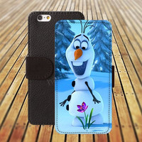 Cartoon Frozen iphone 5/ 5s iphone 4/ 4s iPhone 6 6 Plus iphone 5C Wallet Case , iPhone 5 Case, Cover, Cases colorful pattern L051