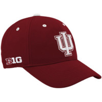 Top of the World Indiana Hoosiers Crimson Triple Conference Adjustable Hat