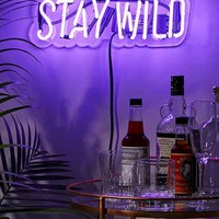 Neon Mfg. Stay Wild Sign