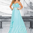 Strapless Sweetheart Formal Prom Dress Tiffany Designs 16012