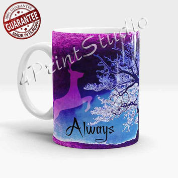 New Harry Potter Always Mug, After all this time? Always - Harry potter quote mug, Severus Snape,  Dumbledore, Lily Potter