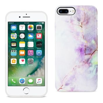 iPhone 8 Plus/ 7 Plus Streak Marble iPhone Cover In Purple