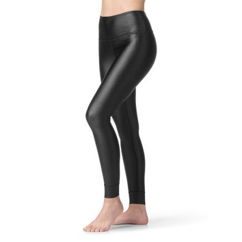 Metallic High Rise Legging