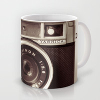 Camera Mug by Tuky Waingan