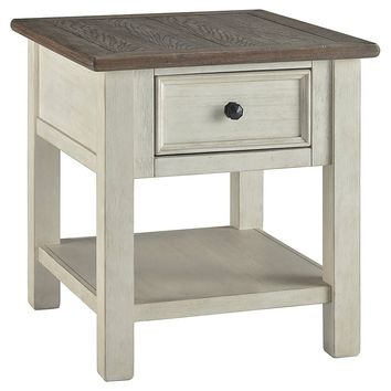 Bolanburg Occasional Tables - Rectangular End, Sofa or Chair Side End Table