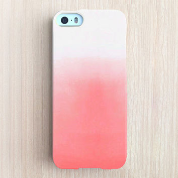 iPhone 6 Case, iPhone 6 Plus Case, iPhone 5S Case, iPhone 5 Case, iPhone 5C Case, iPhone 4S Case, iPhone 4 Case - Peach Sky Latte